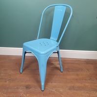Pair of Blue Stools